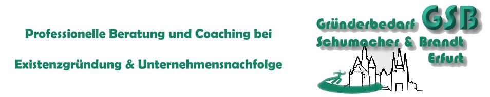 GSB – Gründerberatung Schumacher-Brandt Erfurt